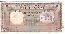 VIETNAM SOUTH, 100 DONG, ND(1966)
