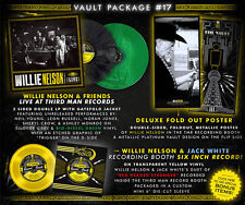 """Third Man Vault"""" 17 Willie Nelson & Friends-Live"""" 2 colored VINILE + 7 inch"""