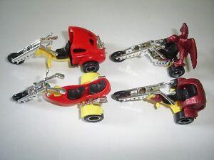 AMERICAN TRIKES MODEL MOTORCYCLES SET 1:64 H0 KINDER SURPRISE PLASTIC MINIATURES