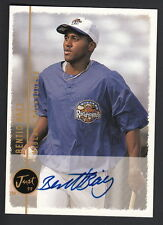 Benito Baez 1999 Just Minors Auto Card Midland Rockhounds