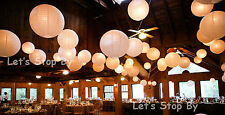 "5x10"" + 10x8"" Paper Lantern + 15 white Led Light Wedding Party Supplies"