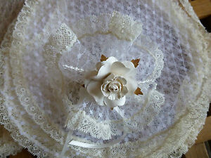 10 Lacy Vintage Nets -Bomboniere/ Wedding Favours/ Christenings/First Communions