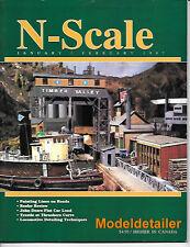 N-Scale Jan.97 Santa Fe Box Car Reefer John Deere Curve Trestle Catenary GHQ SF