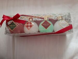 Bubble Bath Baubles set of 4.