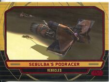 Star Wars Galactic Files Red Parallel #244 Sebulba's Podracer