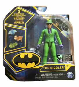 Spinmaster DC Comics 'The Riddler' Tech Wave 1st Edition 10cm Collectible NEW