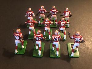 Electric football Players San Francisco 49ers Dark Jerseys- 11 Players