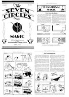 30 RARE ISSUES Of THE SEVEN CIRCLES (1931-1934) MAGIC, CONJURING ON DVD
