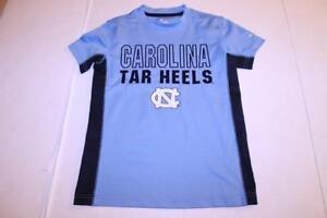 Youth North Carolina UNC Tar Heels XS (6/7) Athletic Performance Shirt Colosseum