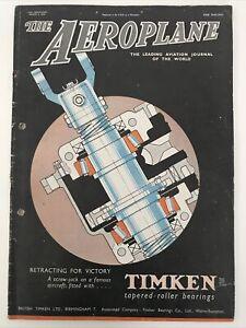 Vintage The Aeroplane Magazine 1945 March 2nd 1945 Airplane Magazine