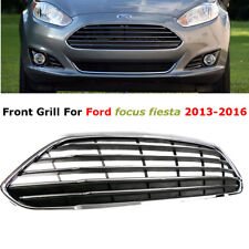 For Ford Fiesta 2014-16 Horizontal Stripe Front Bumper Center Grille Grill Vent