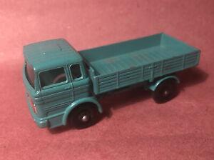Vintage Lesney Matchbox Series No.1 Teal Mercedes Truck NM