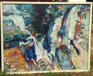 Original Oil Painting By Olga Blacha (925 x 730mm)