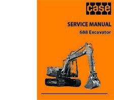 CASE 688 Excavator Repair Manual - PRINT vs