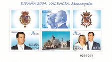 (22892) Spain MNH Valencia Stamp Expo minisheet 2004 unmounted mint