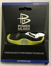 Power Balance Bracelet Wrist Size Medium (19cm) YELLOW - NEW