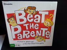 BEAT THE PARENTS-CHILDREN/FAMILY TRIVIA BOARD GAME BY IMAGINATION-2008-COMPLETE