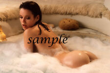 VINTAGE NUDE CANDY LOVING COLOR PHOTO!! 8.5 X 11 GLOSSY QUALITY GUARANTEED