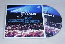 v/a NIGHT OF THE PROMS CD 2007 Promo UB40 Ike Turner John Miles