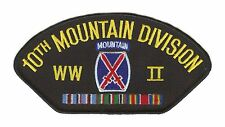 10th Mountain Division WWII Hat Patch