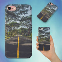 ASPHALT GRASS HIGHWAY HARD BACK CASE FOR APPLE IPHONE PHONE