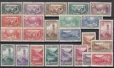 Bi6444/ FRENCH ANDORRA – Y&T # 24 / 45 COMPLETE MINT MH – CV 555 $