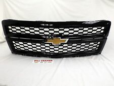 23235956 2014 2015 Chevrolet Silverado 1500 OEM GM Gloss Black Mesh Grille NEW