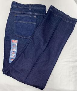 WRANGLER - Men's Size 46x32 Stretch Fit -Drk Blue - NWT!