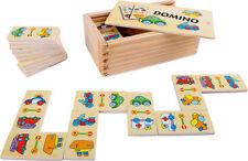 Domino Spiel Die Maus, Zootiere, Fahrzeuge, Meine Freunde Legespiel für Kinder