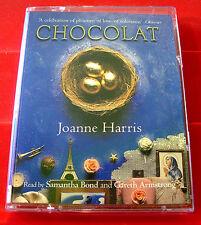 Joanne Harris Chocolat 2-Tape Audio Book Samantha Bond Chocolate/France