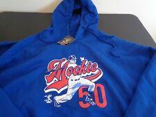 MOOKIE BETTS Los Angeles DODGERS Baseball MEDIUM Hoodie Sweatshirt NEW Blue MLB