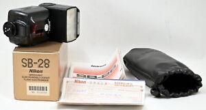 Mint In Box Nikon Speedlight SB-28 Complete Set