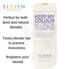 ELEVEN Keep My Colour Blonde Shampoo 300ml Hair care Prevent Brassiness Brighten