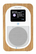 Pure Evoke H3 Bluetooth DAB/DAB+/FM Portable Radio - Oak