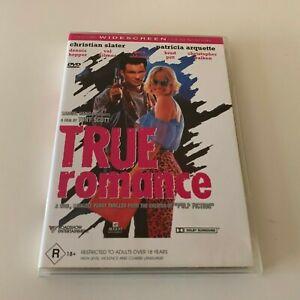 True Romance DVD Region 4 CHRISTIAN SLATER & PATRICIA ARQUETTE Tarantino