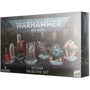 Battlezone: Objective Set - Warhammer 40k - New! 40-41