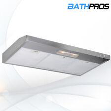 Top/Rear Vented 36'' Kitchen Under Cabinet Stainless Steel Range Hood Dual Fan