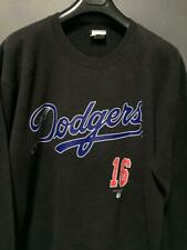 VINTAGE 90's LOS ANGELES DODGERS MLB HIDEO NOMO #16 SWEATSHIRT NUTMEG HIP HOP