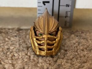 Armored Elf Head with lift up Face Plate for Mythic Legions 2.0 figures