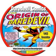 Daredevil Comics Magazine Superhero Golden Age Marvel Lev Gleason Pdf Dvd
