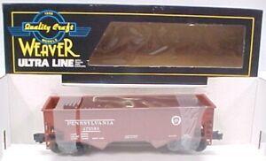 Weaver 473584 Pennsylvania Railroad Hopper [3-Rail] LN/Box