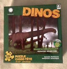 Karmin Int. Smithsonian Dinos 100 pc Puzzle Jurassic Mamenchisaurus Dinosaur