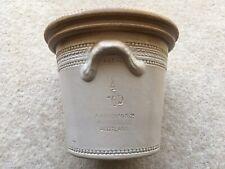 More details for c1900 vintage 4 pint 10d a.w.buchan&co portabello scotland made butter crock