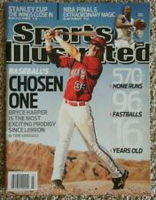 June 8, 2009 Bryce Harper RC First SPORTS ILLUSTRATED NO LABEL Newsstand