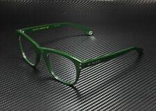 GUCCI GG0476O 009 Square Green Dark Green Demo Lens 51 mm Men's Eyeglasses