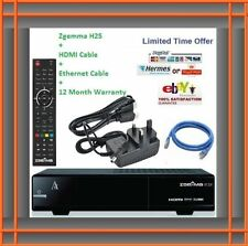 ZGEMMA H.2s RECEIVER TUNER With PLUG & PLAY IPTV 12 month Gift warranty