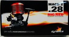 Dynamite Big Red Monster .28 Mach 2 Engine with Pull/Spin Start Dyn0992