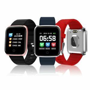 OLED Bluetooth Smartwatch 116 Pro Pulsuhr IP68 wasserdicht iOS Android Huawei LG