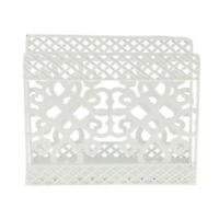 Metal Square Design Napkin Serviette Holder Rack Paper Tissue Storage Box