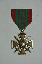 CROIX DE GUERRE 1939/1945-FABRICATION AMERICAINE-FRENCH IRON CROSS AMERICAN MOD.